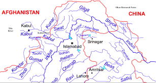 India River Map by India Is Out To Damage Pakistan Water Interest On Kabul River