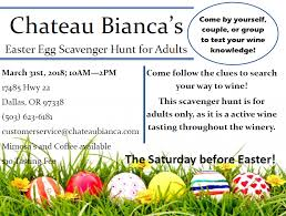 easter scavenger hunt chateau bianca s easter egg scavenger hunt for adults travel
