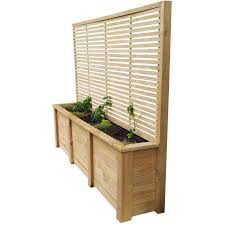 quality nz made wooden planters breswa outdoor furniture