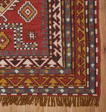 buckman flatweave rug red rejuvenation
