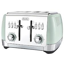 Brevelle Toaster 4 Slice Toaster By Breville Pistachio Look Again