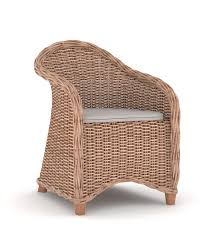 White Living Room Chair Armchair Rattan Chairs For Sale White Wicker Furniture Wicker