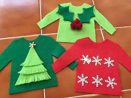Ugly Christmas Sweater Decorations Beth Watson Design Studio Personalized Ugly Christmas Sweater