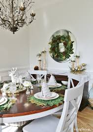 christmas dinner tablesetting ideas sand and sisal