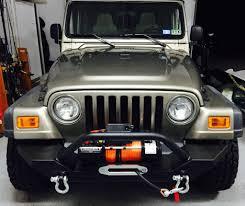jeep yj winch barricade wrangler 9 500 lb winch w synthetic j100789