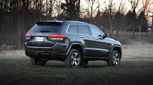 jeep grand cherokee limited 2014 jeep grand cherokee overland 4x4 review youtube