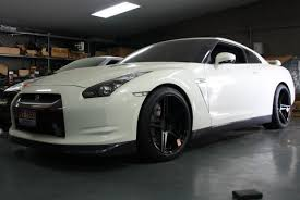 nissan gtr matte silver nissan gtr bc forged hb 09
