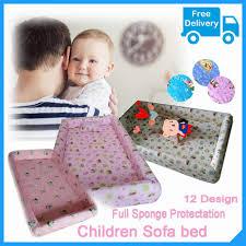 toddler bed baby sofa bed kids children bed sponge full