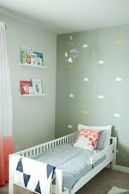 Girls Bedroom Accent Wall Toddler U0027s Room Reveal