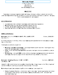 Best Way To Do Resume by Bartending Resume Berathen Com