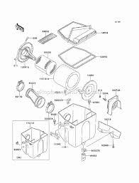 kawasaki klf220 a14 parts list and diagram 2001