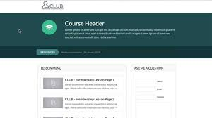optimizepress clubhouse membership course page template youtube