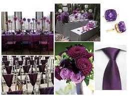 plum and gray wedding table fuschia plum lavender melissa