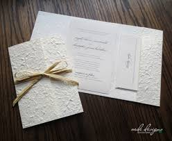 diy invitation kits diy mulberry pocketfold wedding invitation kit with ivory