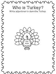 a turkey for thanksgiving by bunting extension activities by