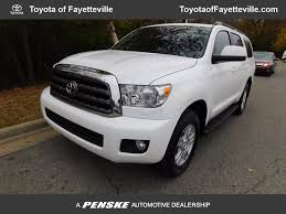 suv toyota sequoia used toyota sequoia at toyota of fayetteville serving nwa