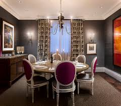pictures of formal dining rooms elegant victorian style formal dining room set with purple cushions