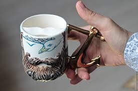 buy mustache cup