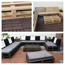 Outdoor Furniture Wood Pallets Lounge Pallet Lounge Outdoor Pallet And Pallet Sofa