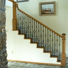 Banister Handrail Stair Parts L Iron Baluster L Iron Railings L Stair Hardware Only