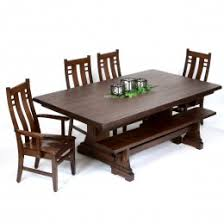 dining room sets amish handcrafted solid wood custom made