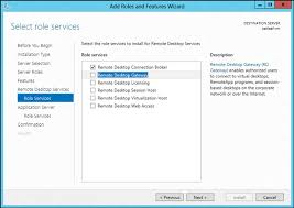 installing remote desktop services on a windows azure virtual