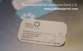Business Cards Rounded Corners Pre Made Shaped Business Cards 2 Corner 3 Corner 4 Corner