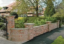 Superb Garden Wall  Decorative Brick Garden Walls Garden Walls - Brick wall fence designs