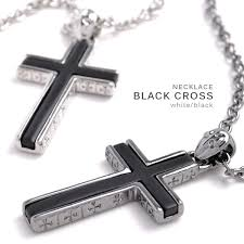 mens cross necklace pendant images Cameron rakuten global market necklace men gap dis cross men jpg