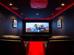 home theater led lighting home theater room design ideas theater room with red led lighting