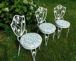 Antique Wrought Iron Patio Furniture by Wrought Iron Patio Furniture Vintage Etsy Ca