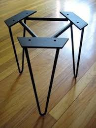 metal end table legs flat bar metal table legs table legs pinterest legs metals