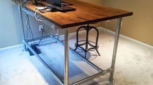Diy Adjustable Standing Desk Diy Adjustable Standing Desk Kit Details Ikea Diy Height