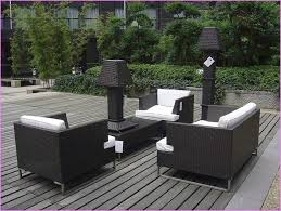 Dark Wicker Patio Furniture by Furniture White Wicker Patio Dining Set With Round Glass Top