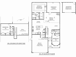 house plan with detached garage best of 4 bedroom house plans detached garage house plan