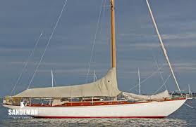 christian jensen 44 ft cruiser racer 1946 sandeman yacht company