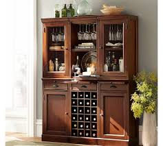 Hutch Bar And Kitchen Modular Bar System With 2 Glass Door Hutch And 1 Open Hutch