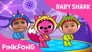 baby shark song free download baby shark dance with kids wearing shark costumes animal songs