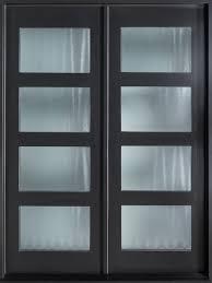 modern exterior front doors modern front door design double modern euro technology mahogany