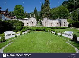 antique minareto in the park of villa d u0027este luxury hotel in stock
