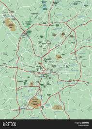 Atlanta Maps by Map Of Greater Atlanta Greater Atlanta Area Map United States