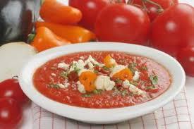 recette cuisine gaspacho espagnol gaspacho aux crevettes recettes de cuisine espagnole