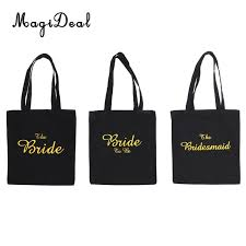 bridal party gift bags wedding party bridal tote bag bridesmaid hen party gift bag the