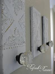 bathroom towel hooks ideas refresh renew master bath update glass knob towel hooks inexpensive