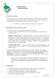business plan samples business plan sampl writing a business plan