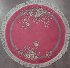 Floral Round Rugs 5 U2032 Wide Rugs Clearance Sale Rug Warehouse Outlet