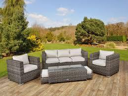 Curved Patio Sofa Sofa Tosh Furniture Outdoor Gray Sofa Set Fantastic Furniture