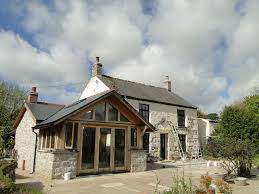 19 small a frame house oak frame and granite extension to a
