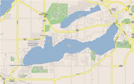 map of lake geneva wi of fontana maps