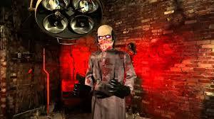 halloween barn background evil scientist spirit halloween youtube